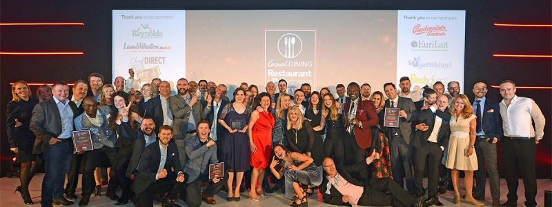 Casual Dining Restaurant & Pub Awards 2017 winners